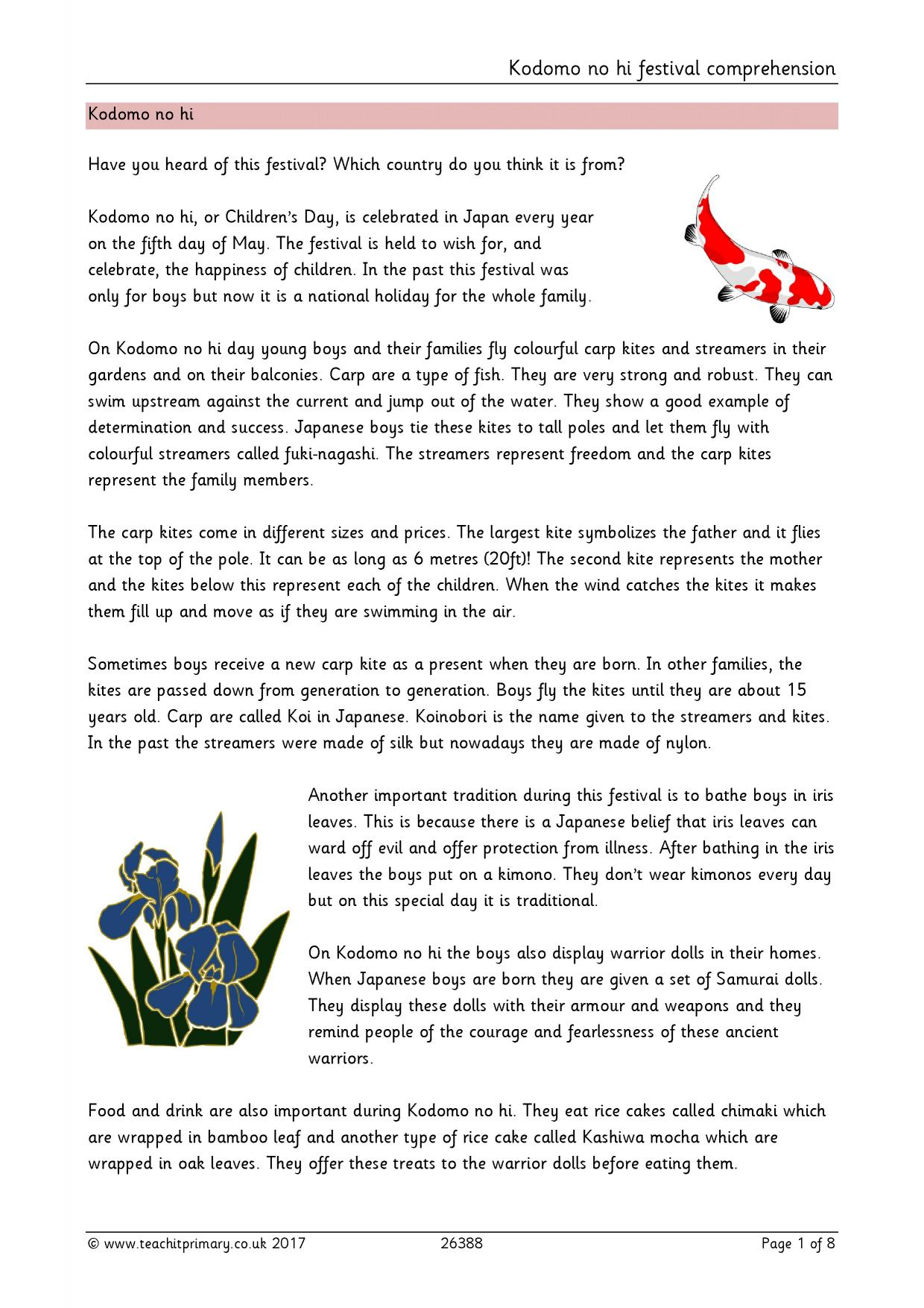 Secret Garden Prehension Questions