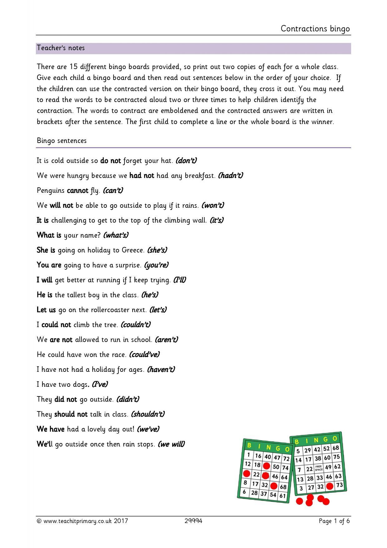 Year 8 Punctuation Worksheet