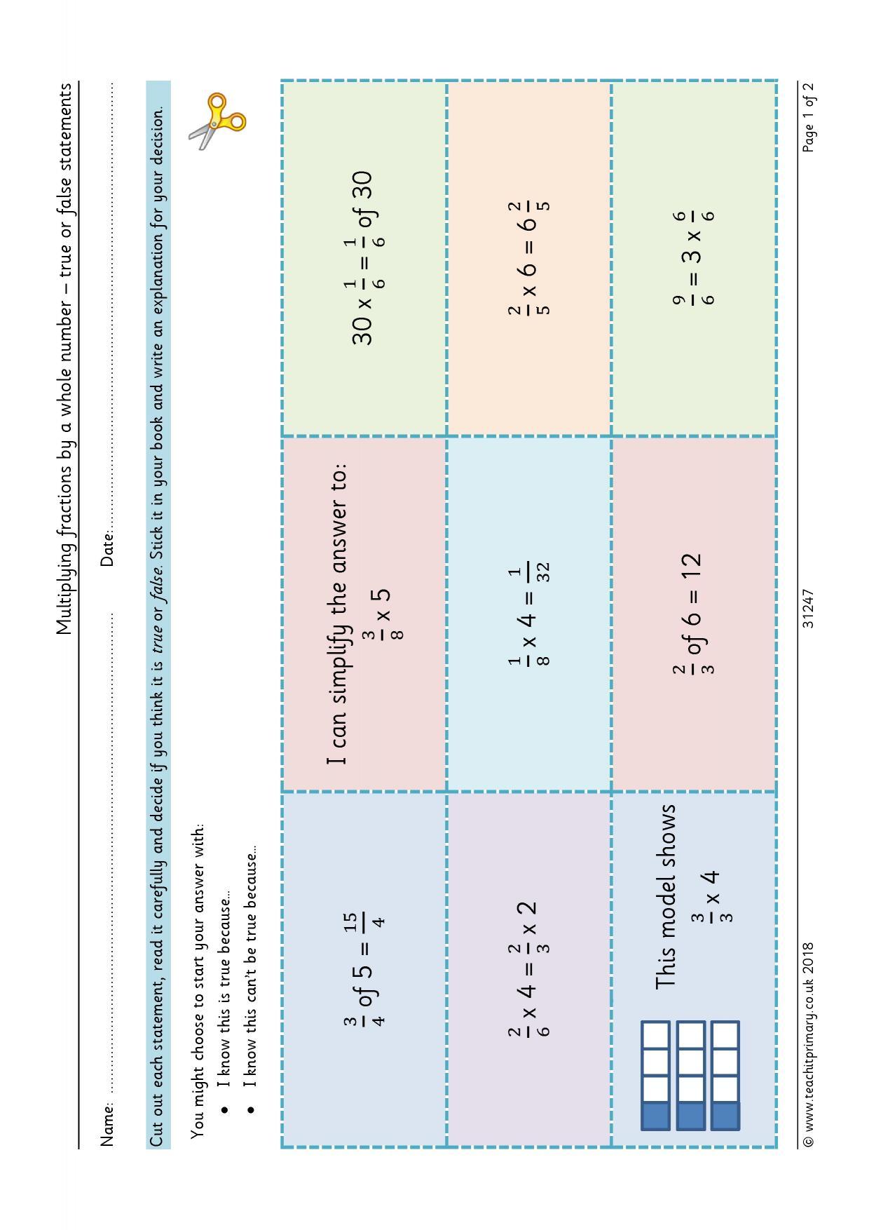 Decimals Ks2 Worksheet