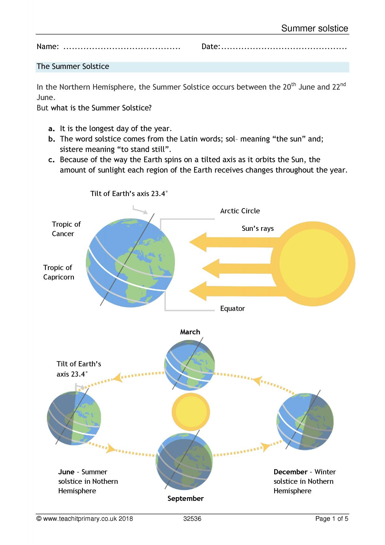 Day And Night Diagram Ks2