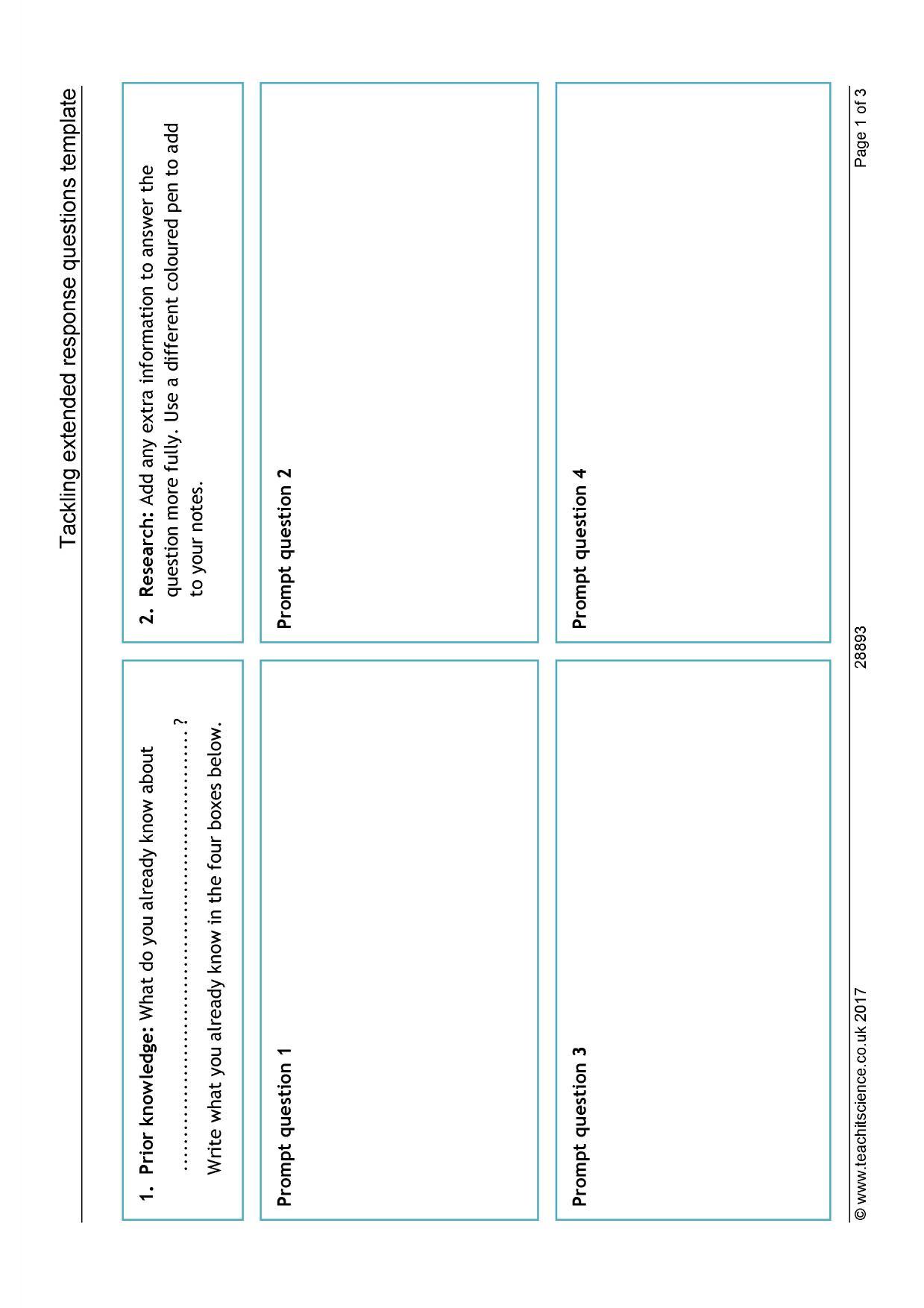 Ks4 Biology Teaching Resources Printable Worksheets And