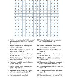 Matching Matter Worksheet   Printable Worksheets and Activities for  Teachers [ 1754 x 1240 Pixel ]