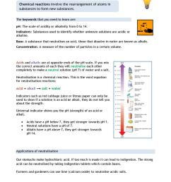 KS3   Chemical reactions – acids and alkalis (KS3)   Teachit Science [ 1754 x 1240 Pixel ]