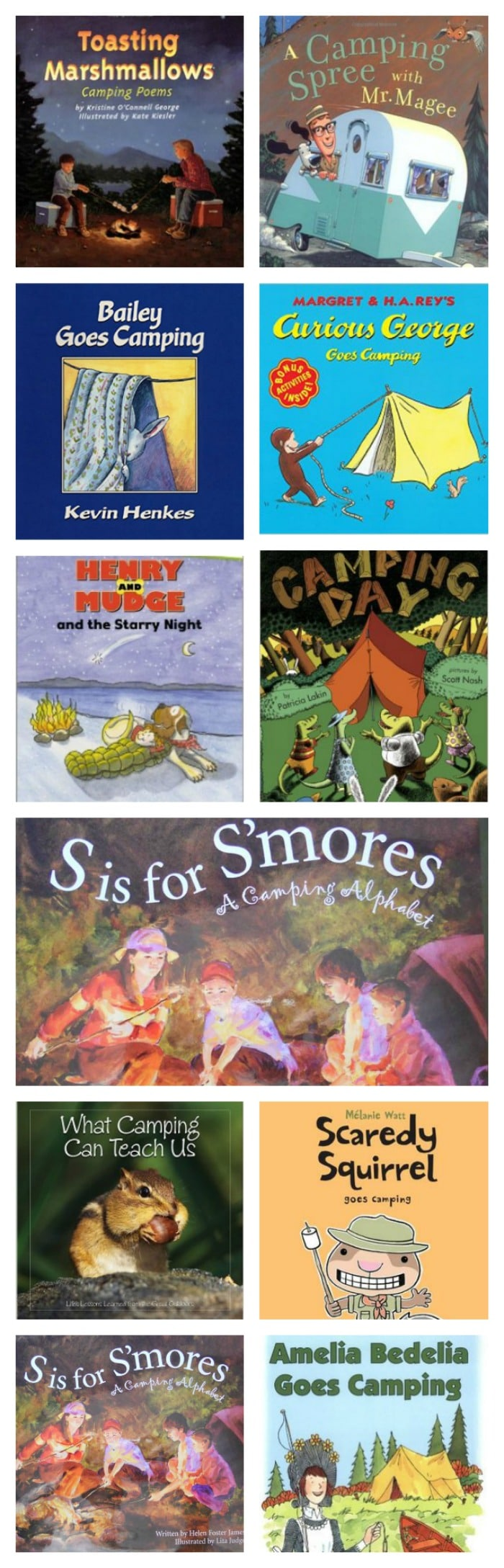 medium resolution of 31 Easy and Fun Camping Theme Ideas and Activities - Teach Junkie