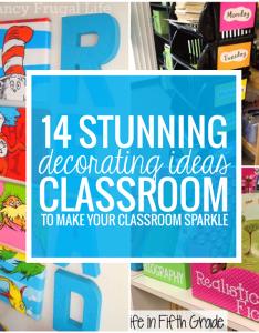 stunning classroom decorating ideas to make your sparkle also rh teachjunkie