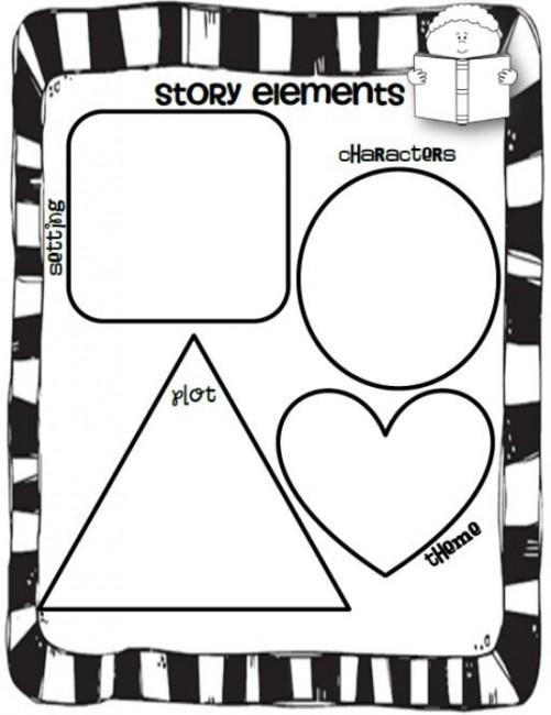 Teach First Grade Story Elements