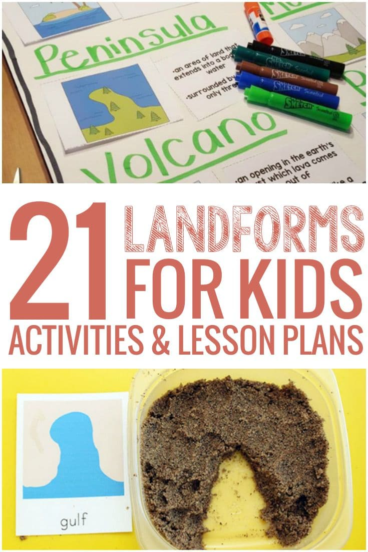 hight resolution of 21 Landforms for Kids Activities and Lesson Plans - Teach Junkie