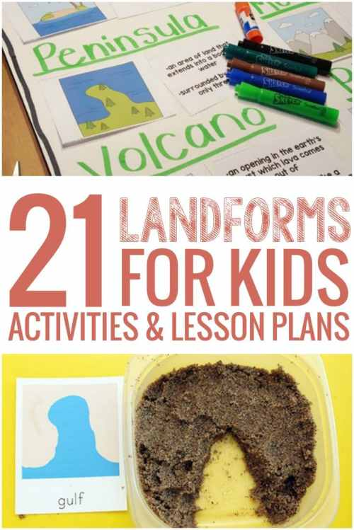 small resolution of 21 Landforms for Kids Activities and Lesson Plans - Teach Junkie