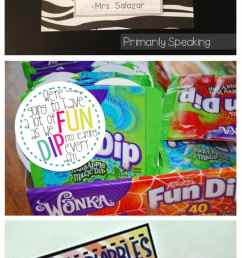 31 Creative Back to School Treats for Students {printables} - Teach Junkie [ 2741 x 735 Pixel ]