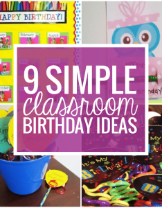 simple birthday celebrations and classroom wishes also teach rh teachjunkie