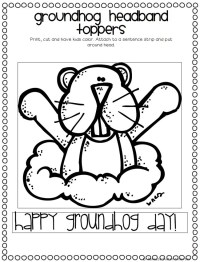 Groundhog Day Math Worksheets Kindergarten. Groundhog