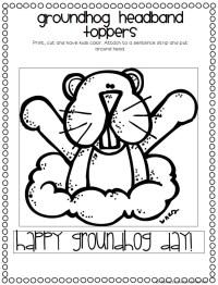 Groundhog Day Math Worksheets Kindergarten. Groundhog ...