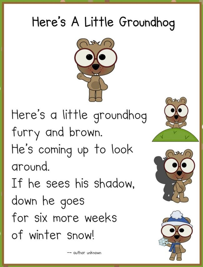 White Groundhog And Black Shadow