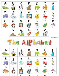 My kindergarten daily schedule and  free alphabet chart also teach junkie rh teachjunkie