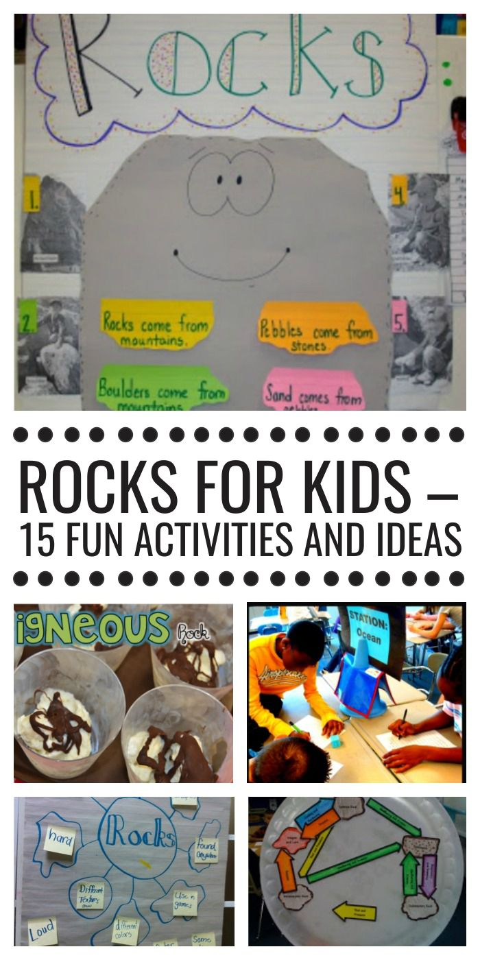 hight resolution of Rocks for Kids - 15 Fun Activities and Ideas - Teach Junkie