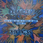 """""""Brotherly Kindness"""" auction project collage on Canvas"""