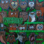 """""""Wisdom"""" auction project collage on Canvas"""
