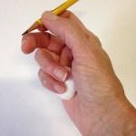 How to Teach the Tripod Grip- step 6