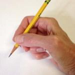How to Teach the Tripod Grip- step 8