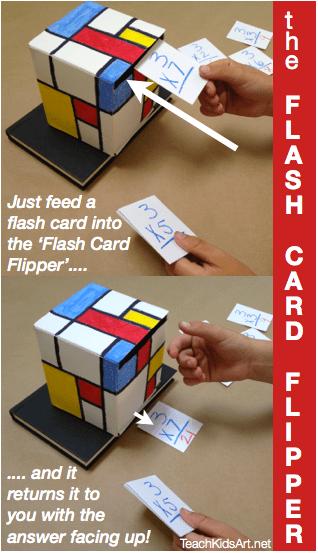 The Flash Card Flipper