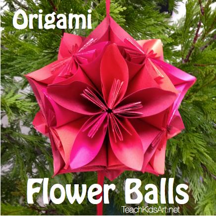 Origami Flower Balls