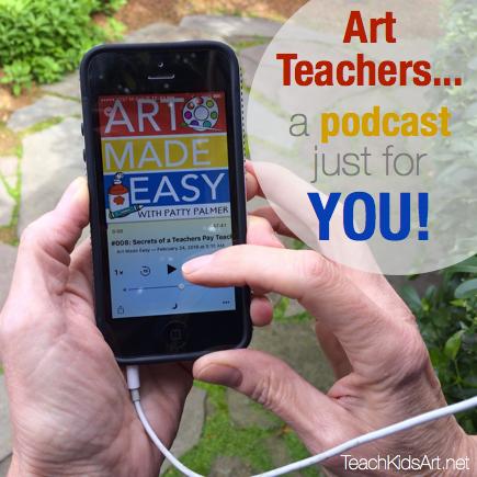 A Podcast Just for Art Teachers