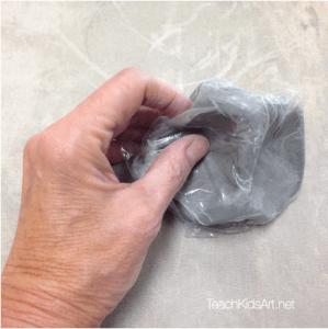 Ceramic Feeling Sculpture: Step 2