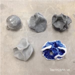 Ceramic Feeling Sculpture: Step 6