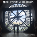 Musee d'Orsay vs. the Louvre