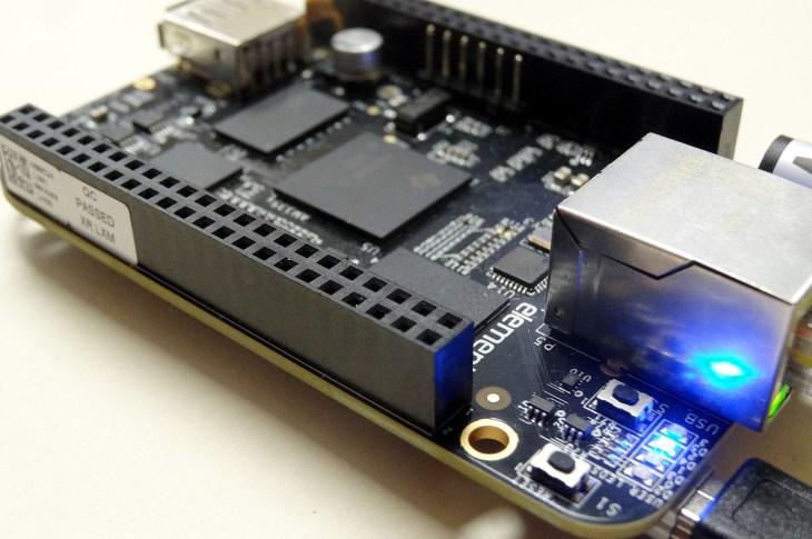 Beaglebone Black On-board LEDs