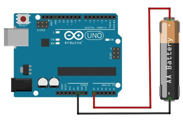 Arduino Sensor battery