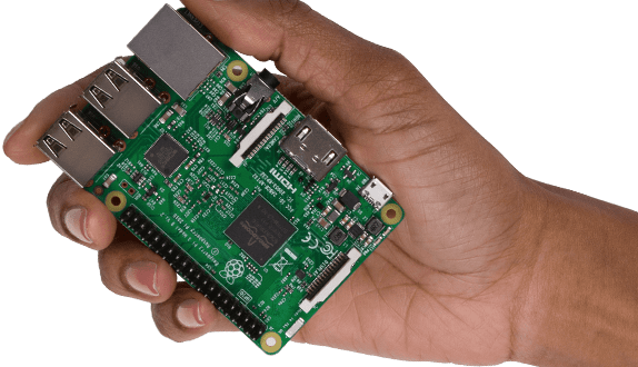 Raspberry Pi Microcontroller Power