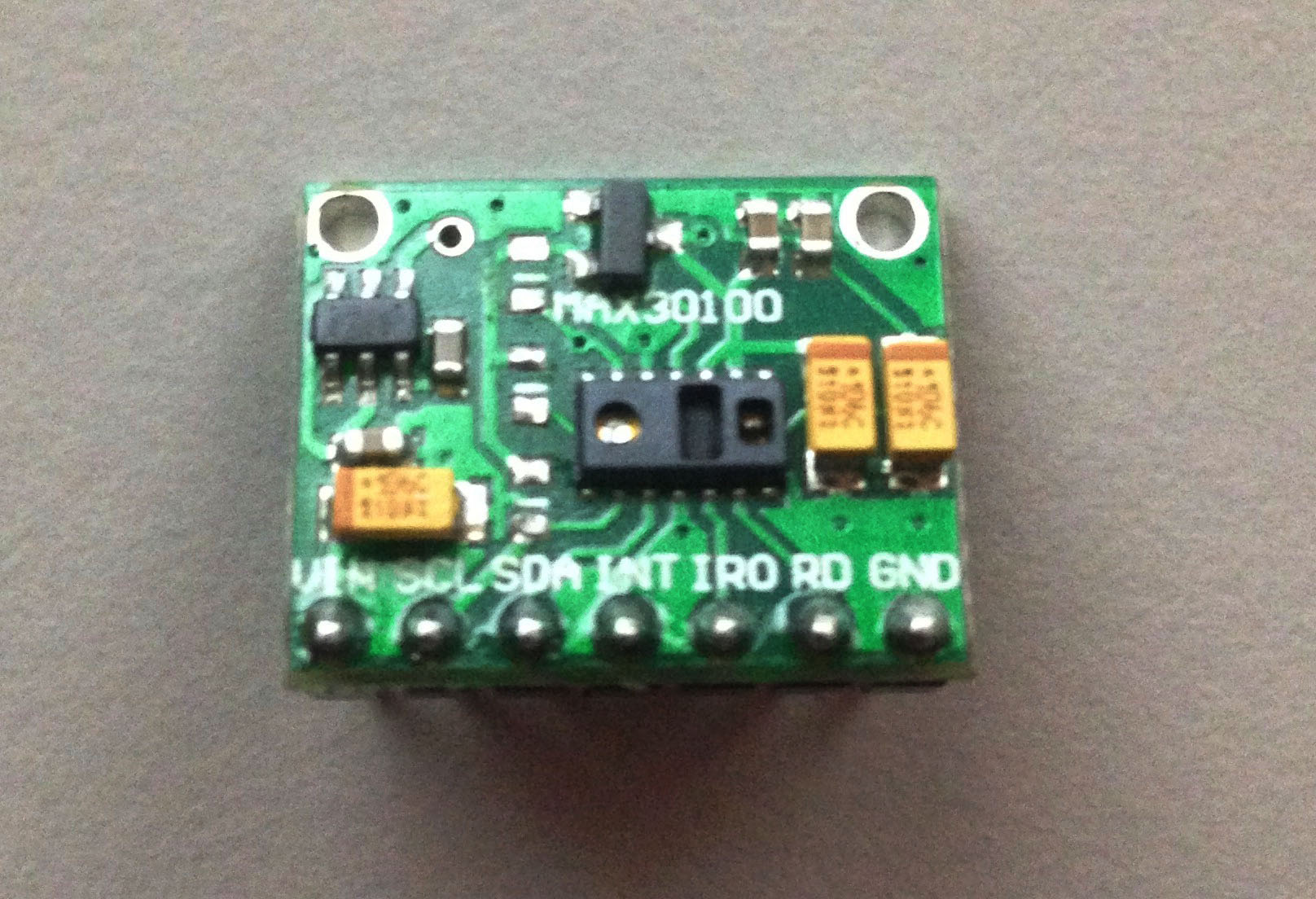How To Use The Max30100 As Arduino Heart Rate Sensor Teach Me With Processor Circuit Homemade Projects Resistors Removed