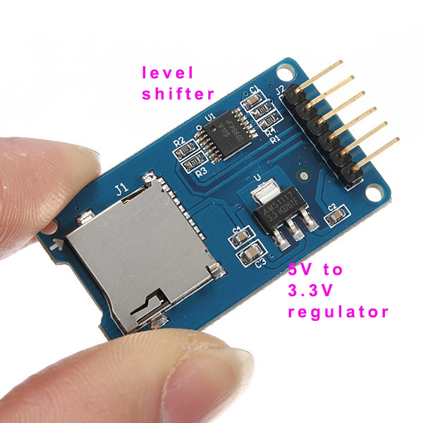Using the MicroSD Breakout Board with Arduino