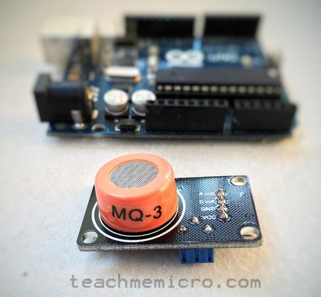 arduino mq-3 alcohol sensor