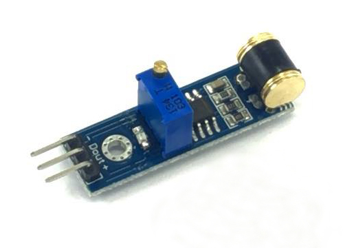 801S vibration sensor breakout board
