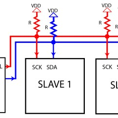 Uart Timing Diagram 14 30r Wiring What Is I2c Protocol Guide Teach Me Microcontrollers