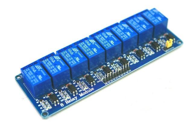 Eight Relay Arduino Relay module