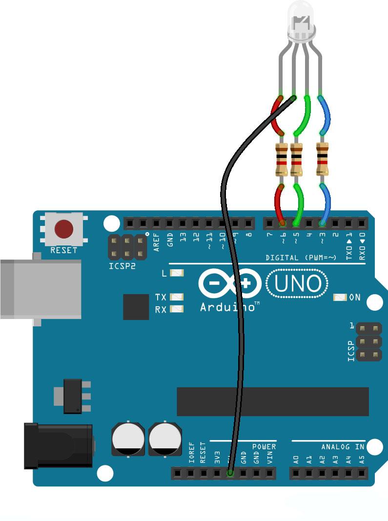 Strange Arduino Rgb Led Tutorial Microcontroller Tutorials Wiring 101 Jonihateforg