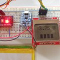 Arduino LiPo Battery Monitor actual setup