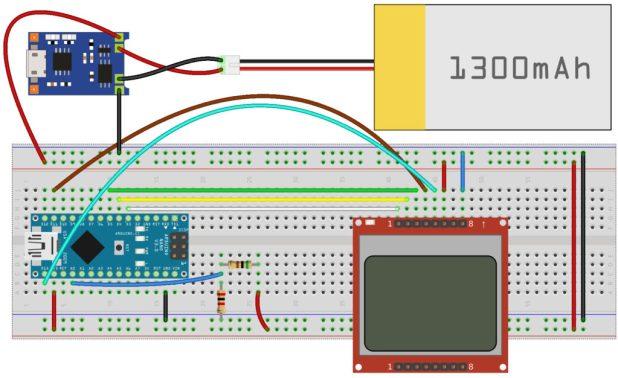 Arduino LiPo Battery Monitor