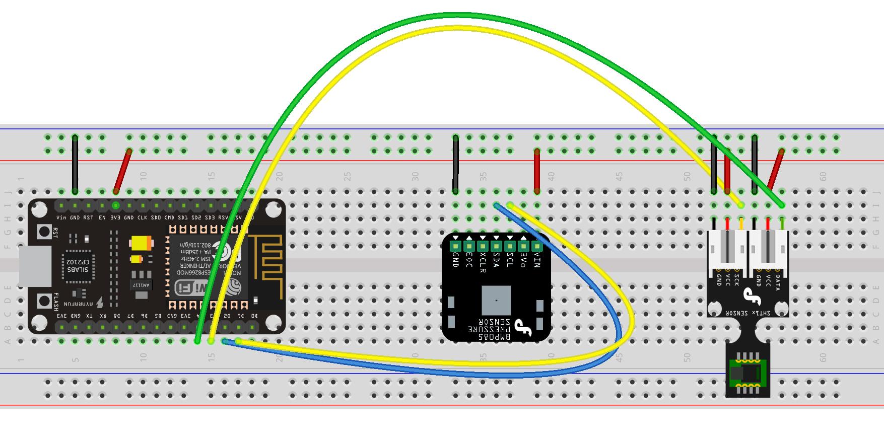 Nodemcu Iot Environment Monitor Teach Me Microcontrollers Wiring Diagram