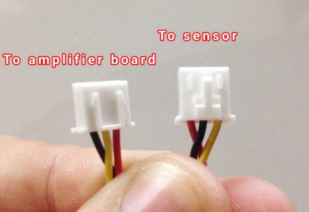 arduino turbidity sensor correct plug placement