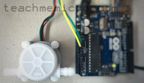 Arduino Water Flow Sensor