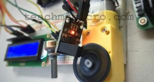 Arduino Motor Speed Sensor