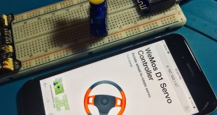 WiFi Servo Controller using WeMos D1 Mini