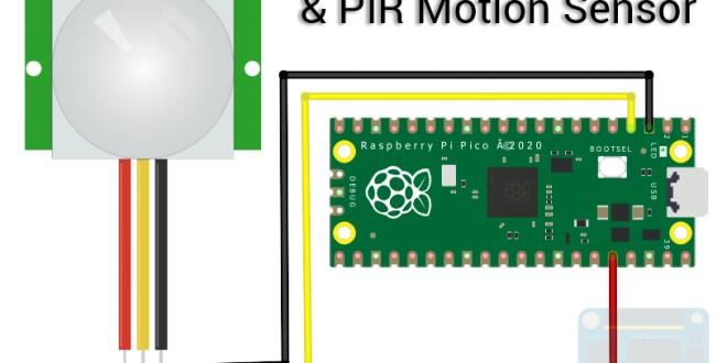 Raspberry Pi Pico and HC-SR501 Motion Sensor