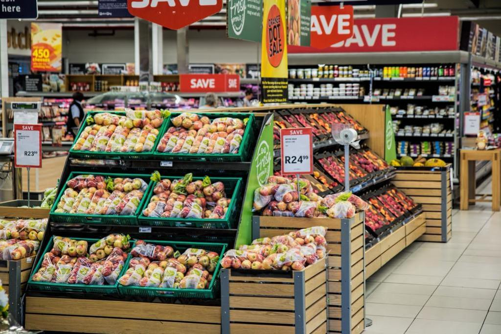 shop clearance to save money on groceries