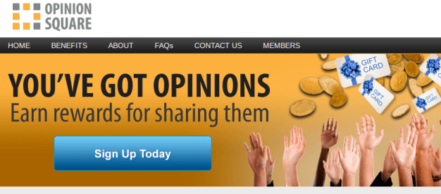 Sign Up for Opinion Square
