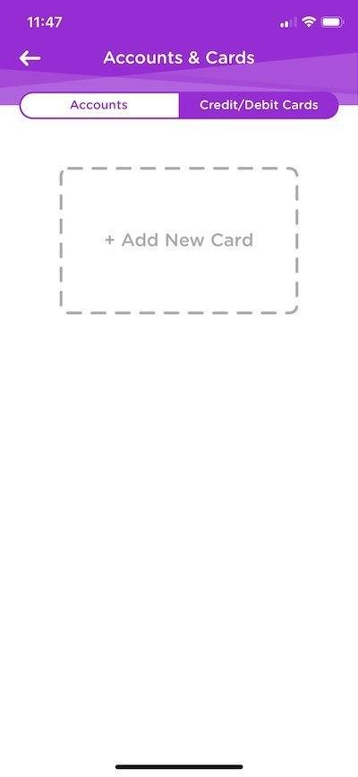 Dosh Add New Card